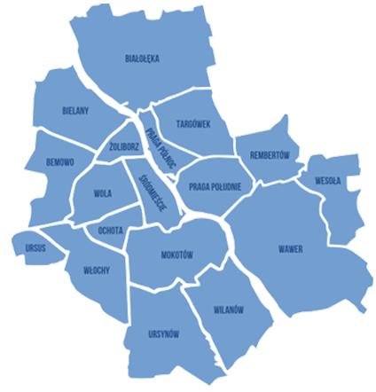 Drogowi Pomocnicy Mapa