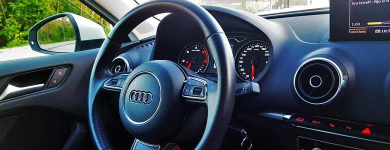 Kierownica samochodu marki Audi