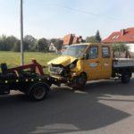 Auto-transport samochodu powypadkowego