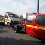 Przetransportowanie pojazdów przez pomoc drogową