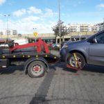 Bezpieczny transport samochodów w mieście